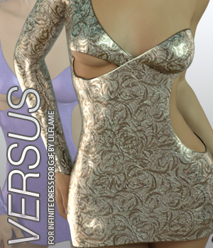VERSUS - Infinite Dress for Genesis 3 Females 3D Figure Essentials Anagord