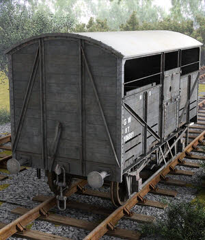 Cattle wagon 3D Models DryJack