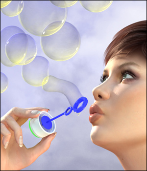 Bubbles for V4 & K4 3D Models MindVision-GDS