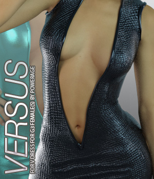 VERSUS - Vdress for G3 female(s) 3D Figure Essentials Anagord