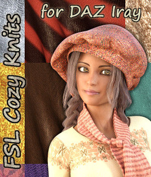FSL Cozy Knits for Iray 3D Figure Essentials fuseling