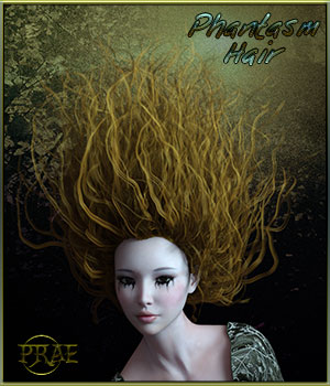 Phantasm Hair For G3 3D Figure Essentials prae