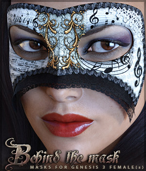 Behind the Mask Genesis 3 Females 3D Figure Essentials Sveva
