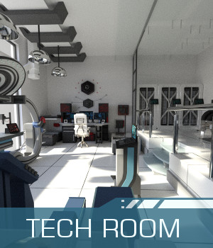 Tech Room 3D Models TruForm