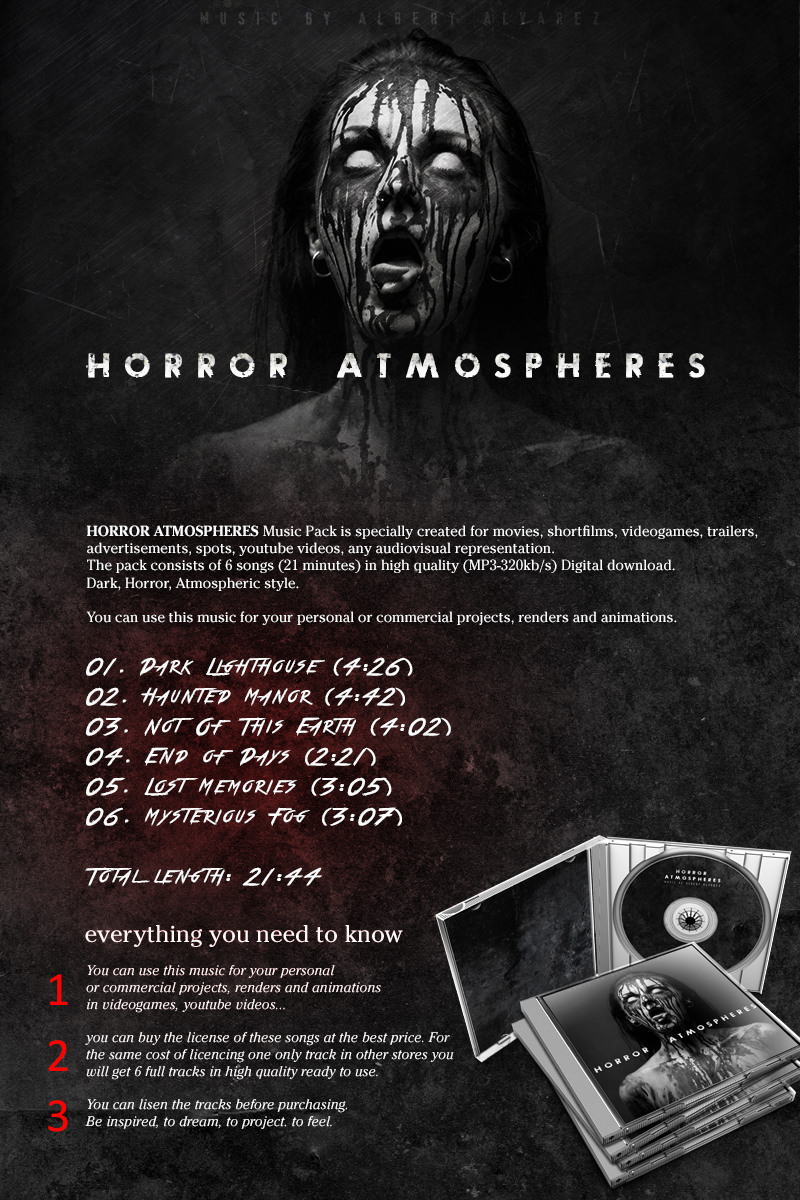 Horror Atmospheres Music Pack
