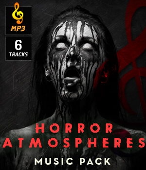 Horror Atmospheres Music Pack Music  : Soundtracks : FX 3D Game Models : OBJ : FBX DemianFox