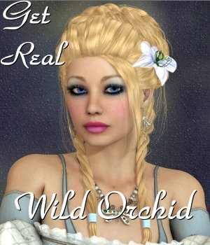 Get Real for Wild Orchid Hair 3D Figure Essentials chrislenn