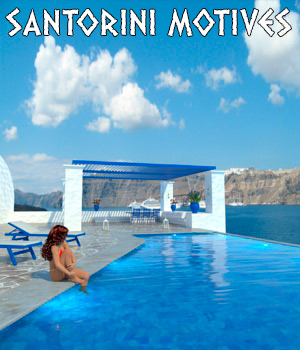 AJ Santorini Motives 3D Models -AppleJack-