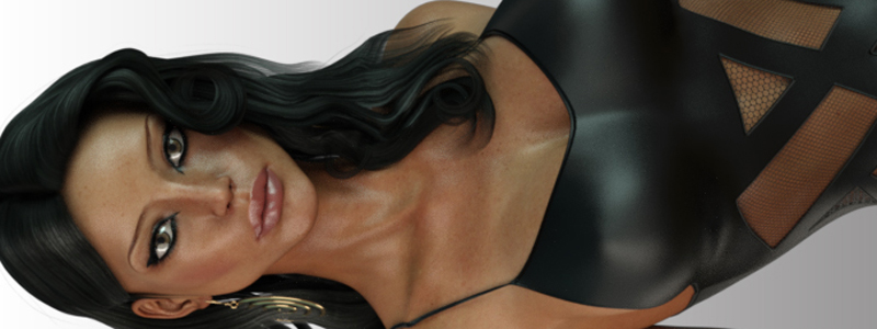 LUST - HiCut Lace Teddy for Genesis 3 Females and Nata3