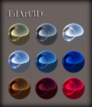 Iray PBR Pro SciFi Shaders MR 3D Figure Essentials Merchant Resources EdArt3D