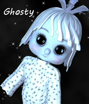 Ghosty 3D Models 3DTubeMagic