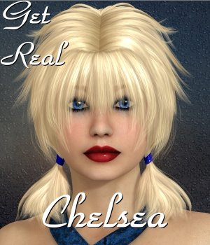 Get Real for Chelsea Hair 3D Figure Assets chrislenn