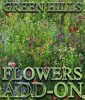 Flinks Green Hills - Flowers Add-on 3D Models Flink