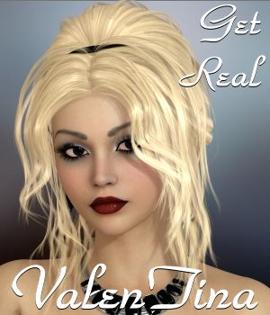Get Real for ValenTina Hair 3D Figure Assets chrislenn