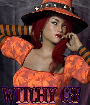 Witchy G3F 3D Figure Essentials kaleya