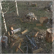 3D Scenery: Woodcutter's Yard image 3