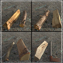 3D Scenery: Woodcutter's Yard image 4