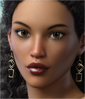 FWSA Myah for Victoria 7 and Genesis 3 3D Figure Essentials Sabby