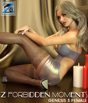 Z Forbidden Moments - Poses for the Genesis 3 Female(s) 3D Figure Essentials Zeddicuss
