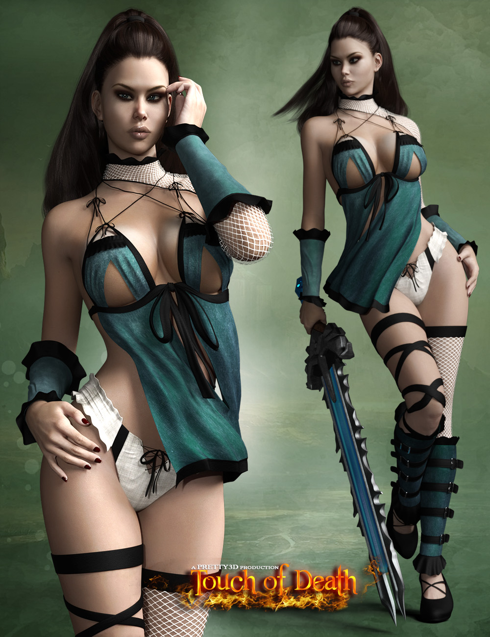 Touch of Death for Genesis 3 Female(s)