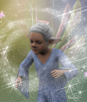 Easy Fairytelling Angel Dust PS Brushes 2D Graphics biala