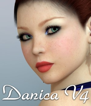 Danica for V4 3D Figure Assets chrislenn