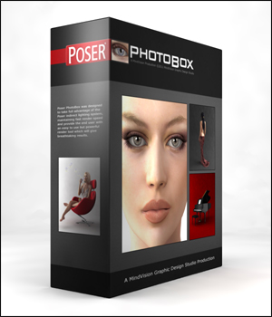 Poser PhotoBox 3D Models MindVision-GDS