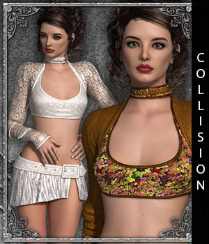 Collision for G2 Cami's Closet II - Coco 3D Figure Assets sandra_bonello
