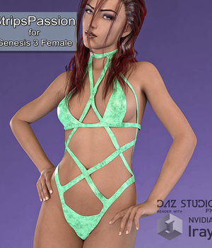 StripsPassion for Genesis 3 Female 3D Figure Essentials MarcosDk