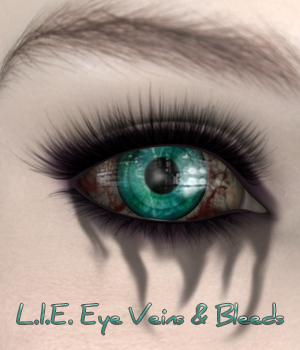 L.I.E. Eye Veins and Bleeds For Genesis 3 Female 3D Figure Assets fictionalbookshelf