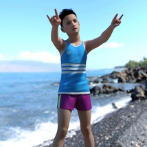 Donevan for Genesis 3 Male - Full Boy Character image 8