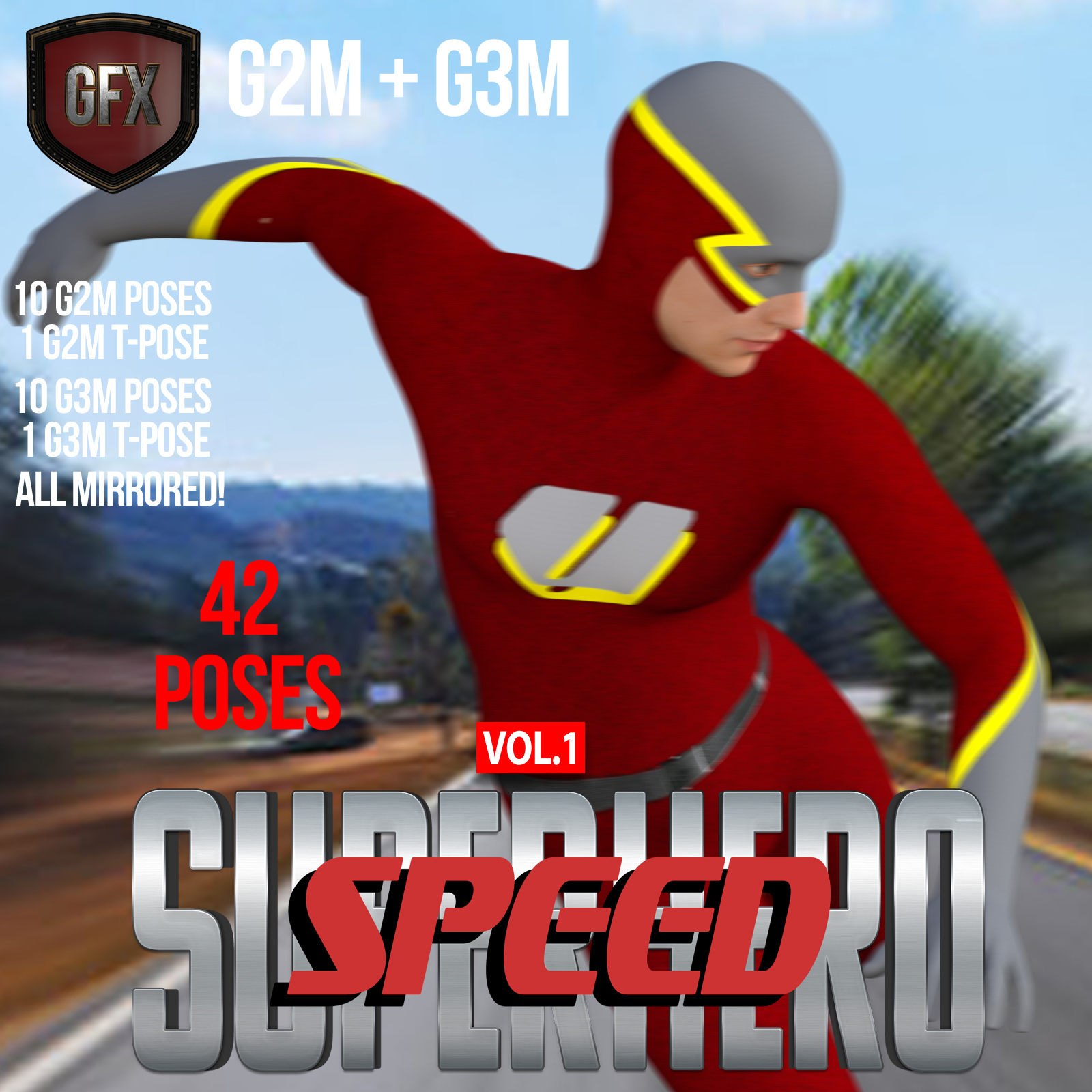 SuperHero Speed for G2M & G3M Volume 1 by GriffinFX