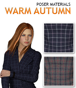 Warm autumn :: Poser Materials 2D Merchant Resources Cyrax3D