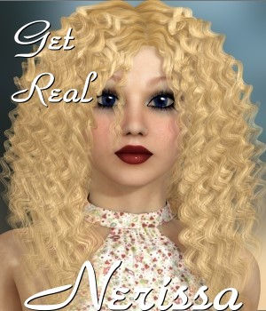 Get Real for Nerissa hair 3D Figure Assets chrislenn