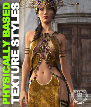 OOT PBR Texture Styles for Mistress Arachne 3D Figure Essentials outoftouch