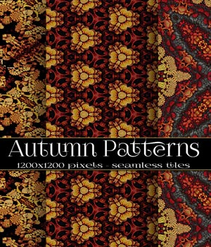 Autumn Patterns 2D Graphics Merchant Resources antje