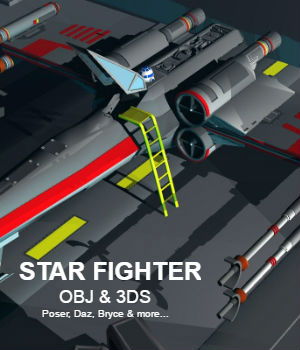 Star Fighter 3D Models darkness_02