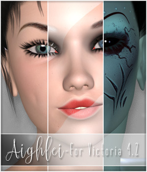 Aighlei for V4.2 3D Figure Essentials SpookieLilOne