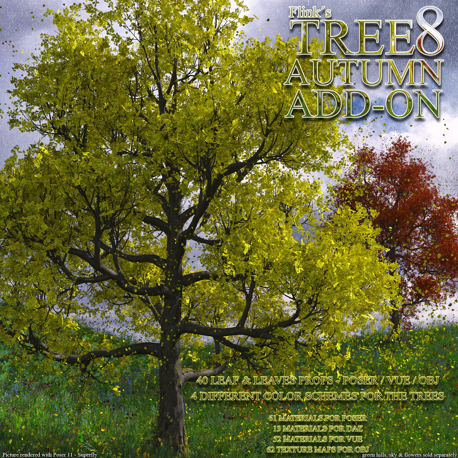 Flinks Tree 8 - Autumn Add-on