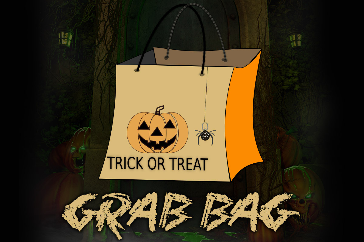 Halloween 2016 Grab Bag - FREE PRODUCT 2D 3D Figure