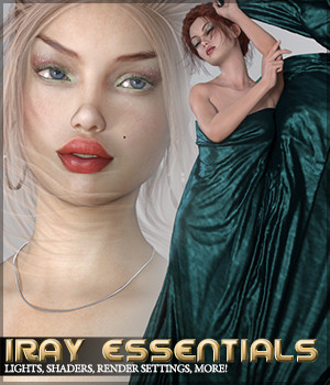 SV's Iray Essentials 3D Figure Essentials Lights OR Cameras Sveva