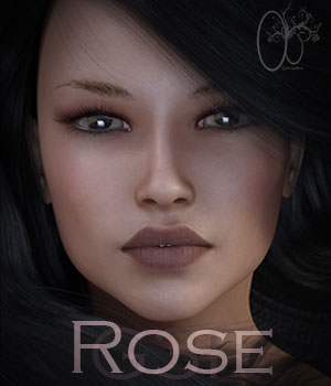 CB Rose G3F 3D Figure Assets CynderBlue