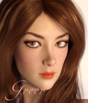 Greer for G3F 3D Figure Assets AliveSheCried