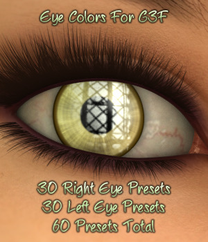 L.I.E. Eye Colors For Genesis 3 Female 3D Figure Essentials fictionalbookshelf