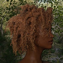 Hair Collection - Vol1 (PBR Textures) Merchant Resource image 7