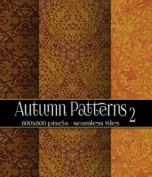 Autumn Patterns 2 2D Merchant Resources antje