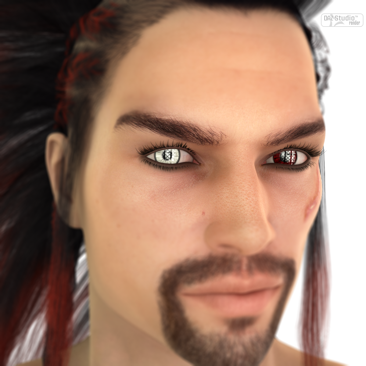 L.I.E. Eye Colors For Genesis 3 Male
