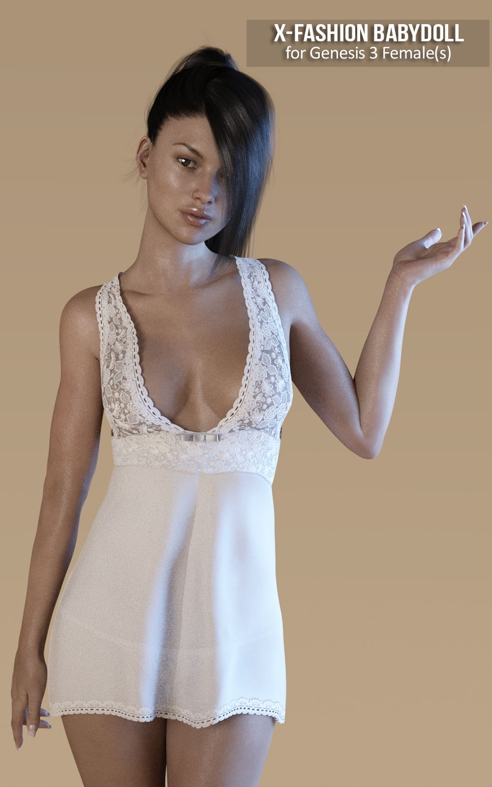 cf5b1070ea60f Fashion Babydoll for Genesis 3 Females. Warning! Content Advisory: Some  images may contain content not suitable for all viewers