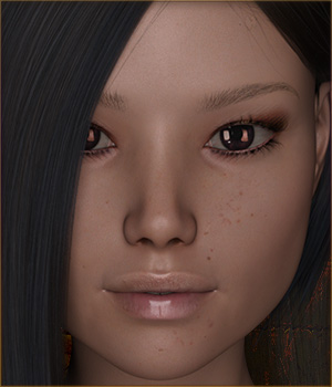 TDT-Leonie for Genesis 3 Female 3D Figure Assets Deva3D