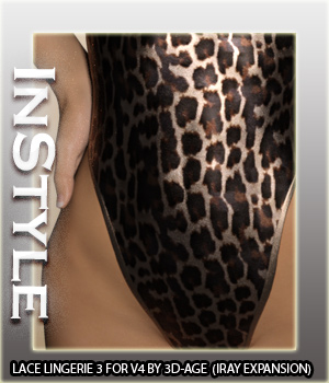 InStyle - Lace Lingerie III - IRAY ONLY 3D Figure Assets -Valkyrie-